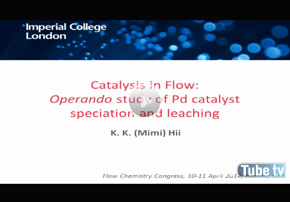 Catalysis in Flow: Operando Study of Pd ...
