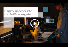 Digital Microfluidic for Mass Spectromet...