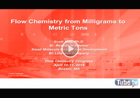 Featured video - Flow Chemistry from Milligrams...