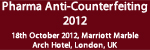 Pharma Anti-Counterfeiting 2012