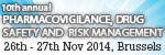 Pharmacovigilance, Drug Safety and Risk Management 2014