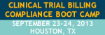 Clinical Trial Billing Bootcamp - Houston