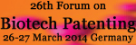 26th Annual Biotech Patenting