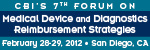 CBI's 7th Forum on Medical Device and Diagnostics Reimbursement Strategies