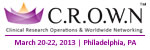 Clinical Research Operations and Worldwide Networking Summit