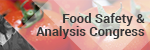 Food Safety & Analysis Congress 2016