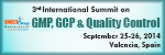 3rd International Summit on GMP, GCP & Quality Control (GMP Summit-2014)