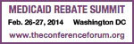 Medicaid Rebate Summit 2014 (MRS)
