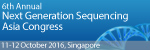 6th Annual Next Generation Sequencing Asia Congress 2016