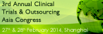 3rd Annual Clinical Outsourcing Asia Congress