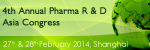 4th Annual Pharma R&D Asia Congress