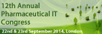 12th Annual Pharma IT Congress 2014