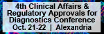 4th Annual Clinical Affairs and Regulatory Approvals for Diagnostics Conference