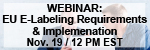 Electronic Labeling Requirements and Implementation- Using the Medical Device Directive to Drive Cost Effective Innovative Solutions Webinar
