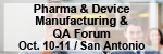 5th Annual Medical Device and Pharmaceutical Manufacturing and Quality Assurance Forum