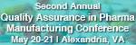 2nd Annual Quality Assurance in Pharmaceutical Manufacturing Conference