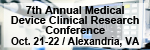 7th Annual Medical Device Clinical Research Conference