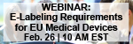 Understanding Electronic Labeling Requirements for EU Medical Devices Webinar