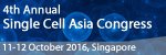 4th Annual Single Cell Analysis Asia Congress 2016