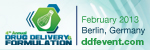 4th Annual World Drug Delivery & Formulation Summit 2013