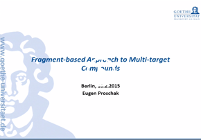 Fragment-based Approach to Multi-target ...