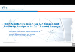 High Content Screening for Target and Pa...
