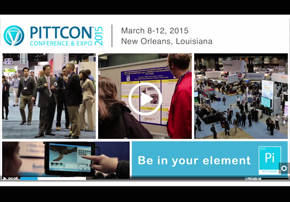 Video - Pittcon 2015 - Be in Your Elem...