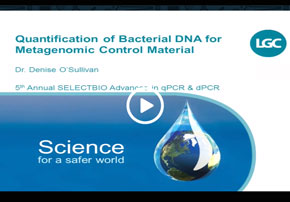 Quantification of Bacterial DNA for Meta...