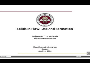 Early Transition Metal Chemistry in Flow...