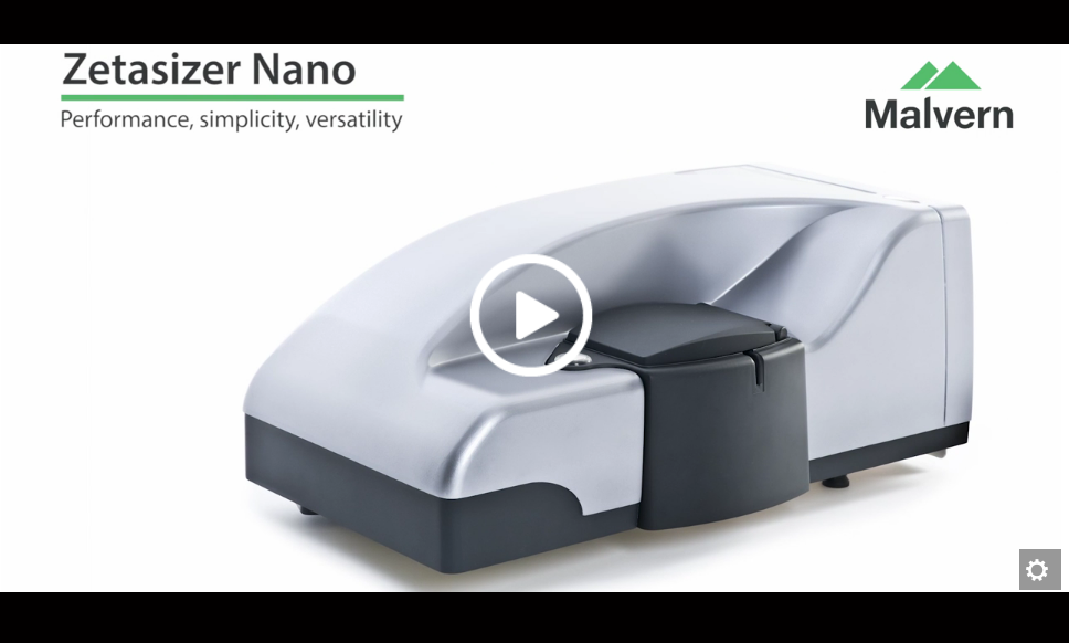 Zetasizer Nano - Simple, versatile dynam...